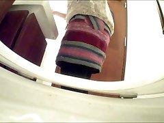 Asian hidden toilet camera in restaurant (#66)