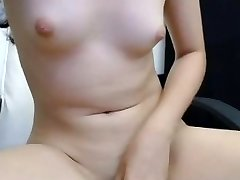finger-tickling and rubbing pink pussy