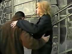 Gross and Busty russian hooker picked up the street