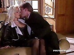 Silvia Saint Tears Up the Lawyer and Drains His Jizz