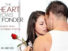 Allie Haze & Johnny Castle in The Heart Gets Taller Fonder Movie
