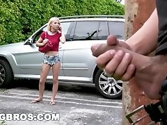 BANGBROS - Stalking Teen Kenzie Reeves and Providing Her Some Rough Sex