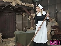 Amish babe Blair Williams saves the heritage with her twat