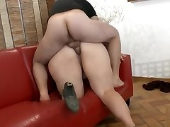First-timer BBW french mega-bitch analyzed and fisted for her casting
