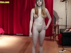 Blonde and ultra-kinky - the very first time