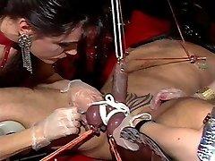 Intense piercing play