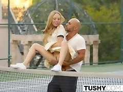 TUSHY First Assfuck For Tennis Student Aubrey Star
