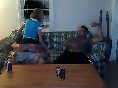 Cuckold share his girlfriend