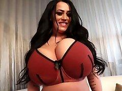 Leanne shaking her big tits