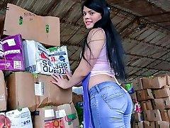 LETSDOEIT - Round Ass Latina Stunner Picked Up And Banged Rock Hard