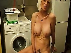 Messy old call girl comes back again for lonely pussy playing