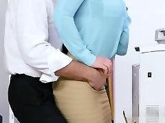Gigantic Cock Boss Bangs Busty Co Worker