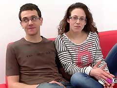 Fabiola is pulverized by Martin's good-sized sausage while her husband wa