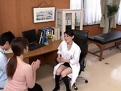Horny Japanese mega-slut in Fabulous Nurse JAV movie