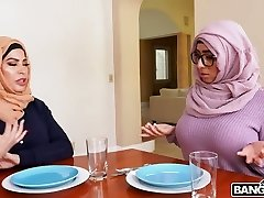 Bootyful hijab lady Violet Myers is poked doggy so darn perfect