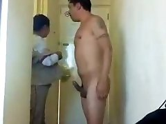 Blowjob by the Motel Maid