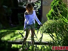 Kira Thorn In Getting Sloppy in the Garden