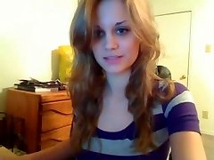 Sweetheart shows all on webcam
