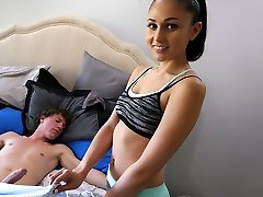 Ariana Marie in Step-Sis Waits For Parents To Leave - SpyFam