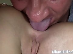 Tan Honey Sabrina Banks Gets Arse Spread and Licked for AAT!