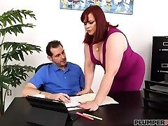 Office Super-bitch Marcy Diamond Fucks Her Boss To Keep Her Job