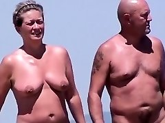 Snooping On Nudists At A Beach In France
