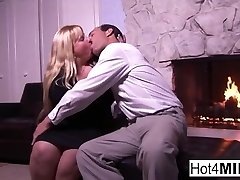 Cassie lets him jism in her cock-squeezing pussy