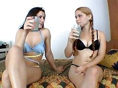 Lesbianas pis dominación 3