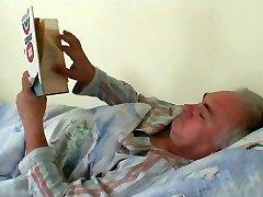 grandpa needs help from marvelous nurse