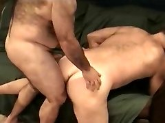 Horny bear bj's with lust his lover's throbbing member