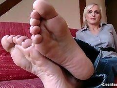 Czech Sexy Feet - Lada Super Soles and Ticklish Soles