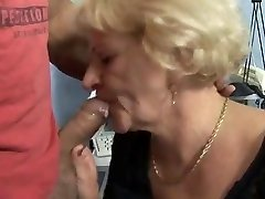 HORNY Grandmother GETS FUCKED BY A Muscled GUY