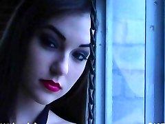 EXCLUSIVO: LowArtFilms Sasha Grey Solitario, Masturbación