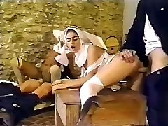 Messy policemen busted having an private affair with sexy nuns