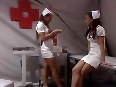 Scorching nurse gets fucked!
