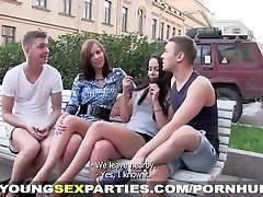Young Intercourse Parties - Making selfies and pulverizing