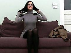 Buxom student brutal anal orgasm