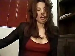 Having anal elation on a sybian