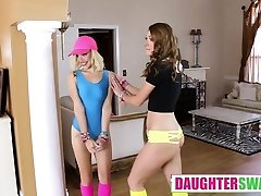Alyce Sage And Kimberly Moss in The Rave Trade