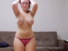 Tiffany Cappotelli - First Striptease