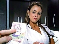 Big Rump Latina Maid