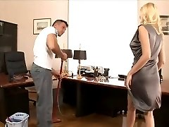 Gets Fucked In The Office