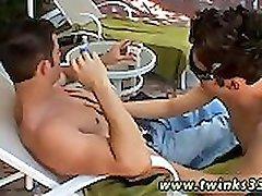 Scandinavian gay twink Shane & Mike Smoke