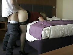 Mature wife fucked by secret lover and creampied