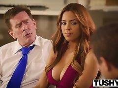 TUSHY First Anal For Latin Beauty Luna Star