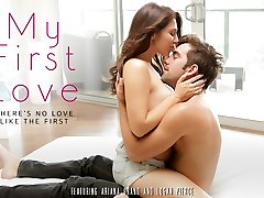 Ariana Grand & Logan Pierce in My First-ever Love Movie