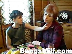 Teen guy hot screwing yummy mom