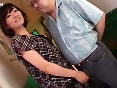 Horny Japanese woman Manami Komukai in Fabulous Hand-job, Cumshot JAV scene