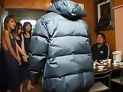 暑い日本のモデル桜桜田ルイ大坪城山に角質のザーメン、カップルJAVシーン