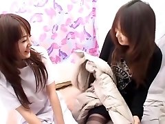 Greatest Chinese chick Asuka Ayanami, Ringo Akai in Hottest Massage, Lesbian JAV video